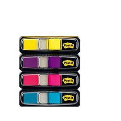 Post-it® Index Mini 683 - colori vivaci - conf. 4