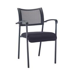 Jupiter Arm Chair - Black Frame Ref CH0786