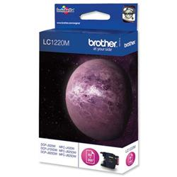 Brother LC-1220M Magenta Inkjet Cartridge Ref LC1220M