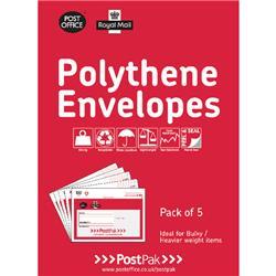 Polythene 460x430 Envelopes (20 Pack) 101-3484