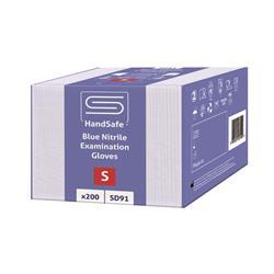 SafeDon Small Nitrile Gloves Blue (200 Pack) SD91/S