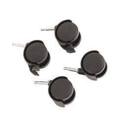 Black Castor Set for HB-4068 Box System (4 Pack) 369048