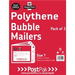 Polythene Size 7 Bubble Mailer (13 Pack) 101-3492
