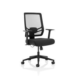 Ergo Twist Black Fabric Seat Mesh Back Ref EOTT1