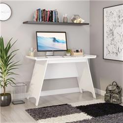 TOWSON TRESTLE DESK WHITE EFFECT