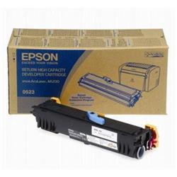 Epson AcuLaser M1200 Return Developer Toner Cartridge High Yield Page Life 3200pp Black Ref C13S050523