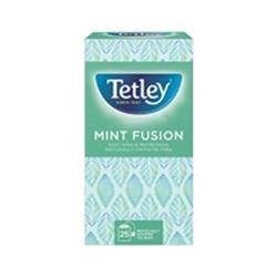 Tetley Individually Enveloped Mint Fusion Tea Bags Finest European-sourced Ref 1576a Pack 25
