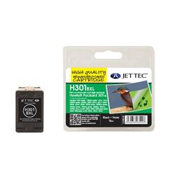 Jet Tec HP Compatible HP301XL/CH563EE (15ml) Remanufactured Inkjet Cartridge
