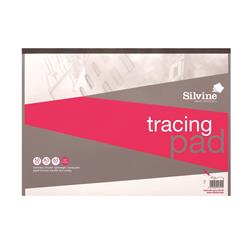 Silvine Tracing Pad Acid Free Paper 63gsm 50 Sheets A3