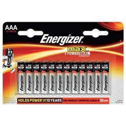 Batterie ENERGIZER Max AAA conf. da 12 - E300103703