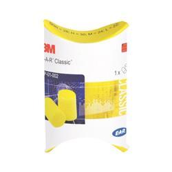 Inserti monouso astuccio in carta PP-1-002 3M - giallo - SNR = 28dB 32025 - conf. 250