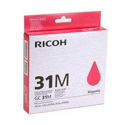 Ricoh GC31M Magenta Gel Ink Cartridge (Yield 1,920 Pages)