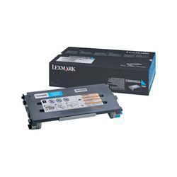 Lexmark C500 Cyan 3k Laser Toner Cartridge Ref 0C500H2CG