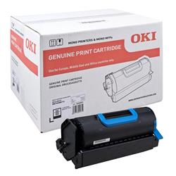 OKI Black Toner Cartridge (Yield 18,000 Pages) for B721/B731/MB760/MB770 Mono Printers
