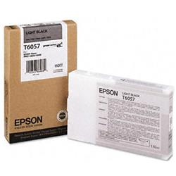 Epson T6057 Light Black Ink Cartridge (110ml) for Stylus Pro 4800/4880