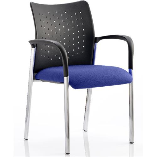 Academy Visitor Chair Serene Colour Seat With Arms Ref