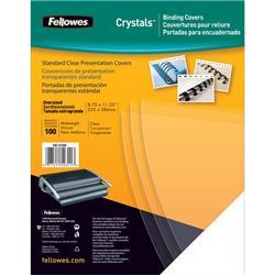 Copertine in PVC per rilegatura Fellowes - A4 - 150 my - trasparente - 5376001 - conf. 100