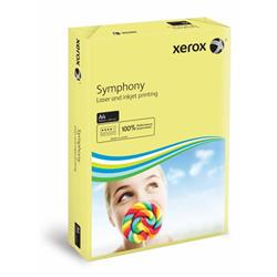Xerox Symphony Pastel Yellow A4 210X297mm 80Gm2 PEFC2 Ref 003R93975 [Pack 2500]