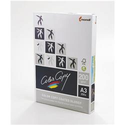 Color Copy Paper Coated Glossy White FSC4 A3 420x 297mm 200gm Ref 24879 [Pack 250]