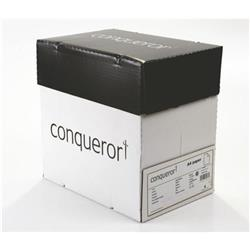 Conqueror Paper Texture Laid High White FSC4 A4 210x297mm 90Gm2 Watermarked Ref 25504 [Pack 500]