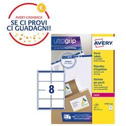 Etichette adesive Avery - per indirizzi - BlockOut™ - 99,1x67,7 mm - 8 etichette/ff - 100 fogli