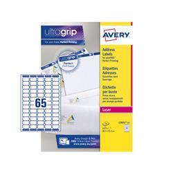Etichette adesive Avery - mini - laser - 38,1x21,2 mm - 65 etichette/ff - 25 fogli
