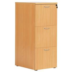 3 Drawer Filing Cabinet - Beech Version 2