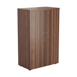 1600 Wooden Cupboard (450mm Deep) Dark Walnut