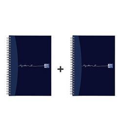Oxford MyNotes Notebook Wirebound Feint & Margin 90gsm 200pp A5 Ref 100082372 [Pack 3] -  2 for 1
