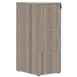 3 Drawer Filing Cabinet - Grey Oak