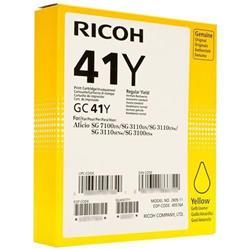 Ricoh Laser Inkjet Cartridge Page Life 2200pp Yellow Ref RIC405764