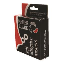 Fisher Clark Extra Strong Vinyl Reinforcement Ring (Pk 1000) Ref WS5006