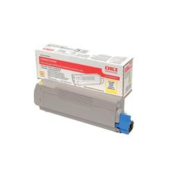 OKI 43324421 (Yield: 5,000 Pages) Yellow Toner Cartridge