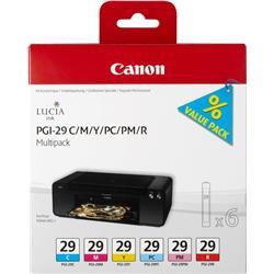 Canon PGI-29 (Colour) Ink Cartridges (Multipack)