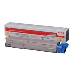 OKI 45862814 (Yield: 10,000 Pages) High Yield Yellow Toner Cartridge