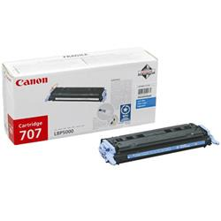 Canon 707 (Cyan) Toner Cartridge (Yield 2,000 Pages)