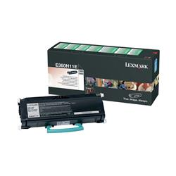Lexmark E360H11E (Yield: 9,000 Pages) High Yield Return Program Black Toner Cartridge