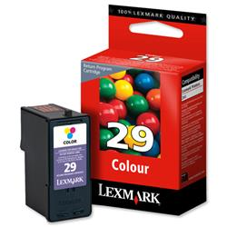 Lexmark No.29 Tri-Colour Return Program Print Cartridge for Z845 Printer