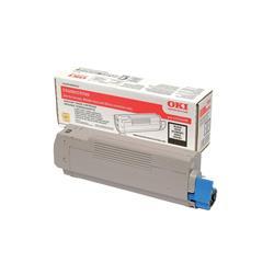 OKI 43324408 (Yield: 6,000 Pages) Black Toner Cartridge
