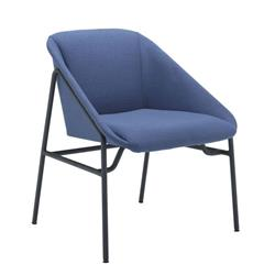 Ruby Reception Chair - Navy Ref OF0709NA