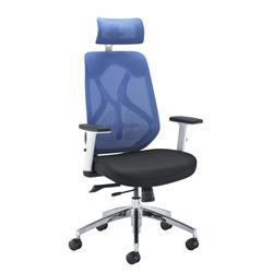 Maldini High Back Chair - Blue Ref CH0782WHBL