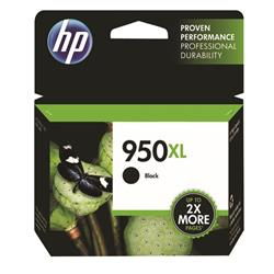 Hewlett Packard (HP) No. 950XL Inkjet Cartridge High Capacity Page Life 2300pp Black Ref CN045AE #BGX