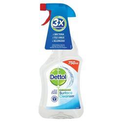 Dettol Surface Cleanser Spray 750ml Ref 14781 - 2 for 1