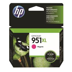 Hewlett Packard (HP) No. 951XL Inkjet Cartridge High Capacity Page Life 1300pp Magenta Ref CN047AE #BGX