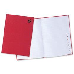5 Star Office Manuscript Book Casebound 70gsm Ruled and Indexed 192 Pages A4 [Pack 1]