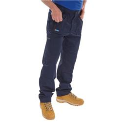 Click Workwear Work Trousers Navy Blue 46 Ref AWTN46