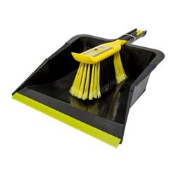 Bentley Bulldozer Dustpan & Brush Set Ref 518014