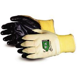 Superior Glove Dexterity 18-G Flame-Resist Arc Flash Pair Black 7 Ref SUS18KGNE07