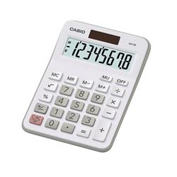 Casio Desktop Calculator 8 Digit 4 Key Memory Battery/Solar Power 103x31x137mm Silver Ref MX-8B-WE