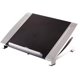 "Supporto Laptop Office Suites - Fellowes - fino a 15"" - 5 kg - 38,6x36x10,4 cm - nero e argento"